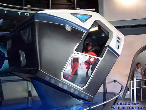 WDW - Ptitmath Grandmath et Timekeeper - Sept 2004 EpcotMissionSpacePodOvAll
